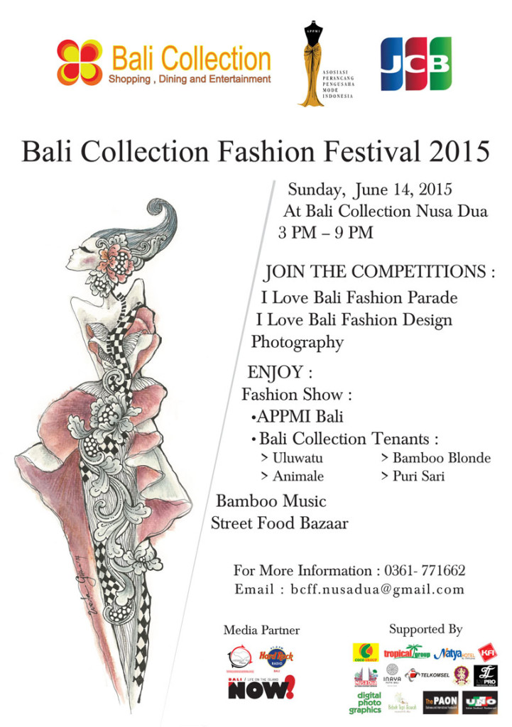 DON'T MISS IT OUR 2ND BALI COLLECTION FASHION FESTIVAL
