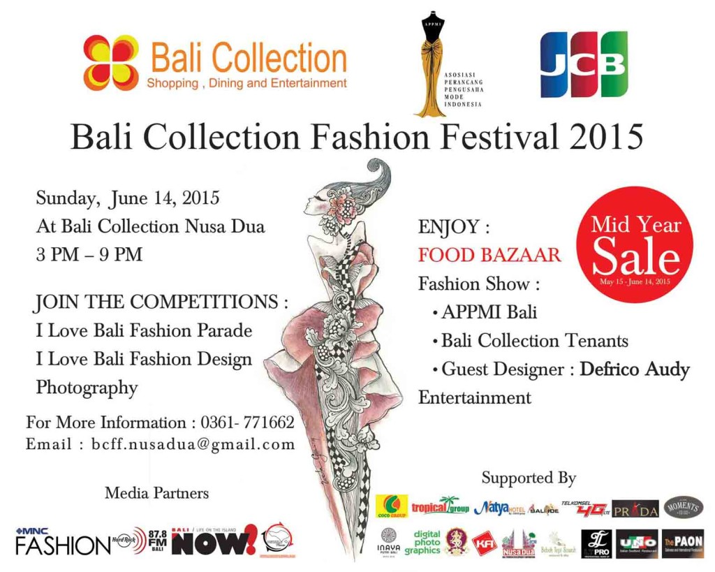 Bali Collection Fashion Festival 14 June 15