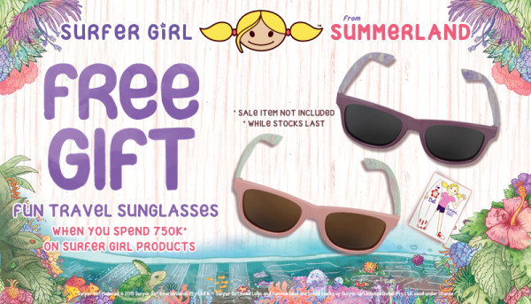 FREE SUNGLASSES!