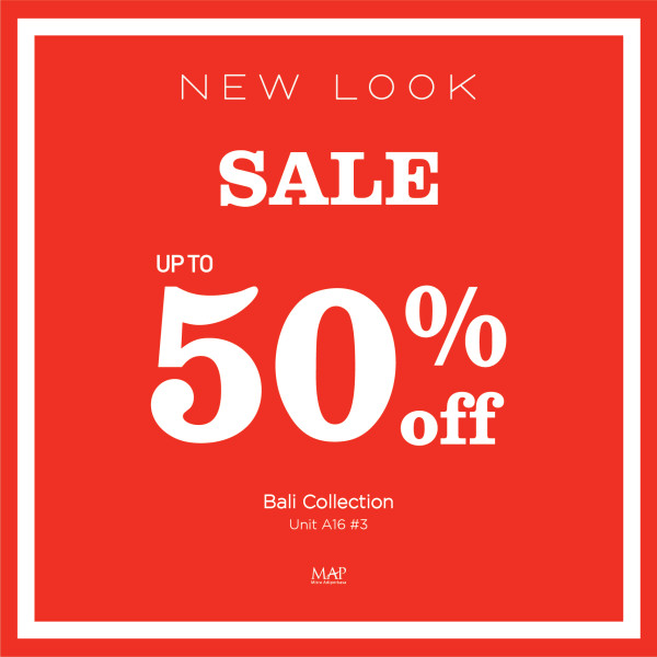 New Look Sale up to 50% OFF!