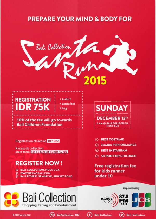 event in bali sunta run