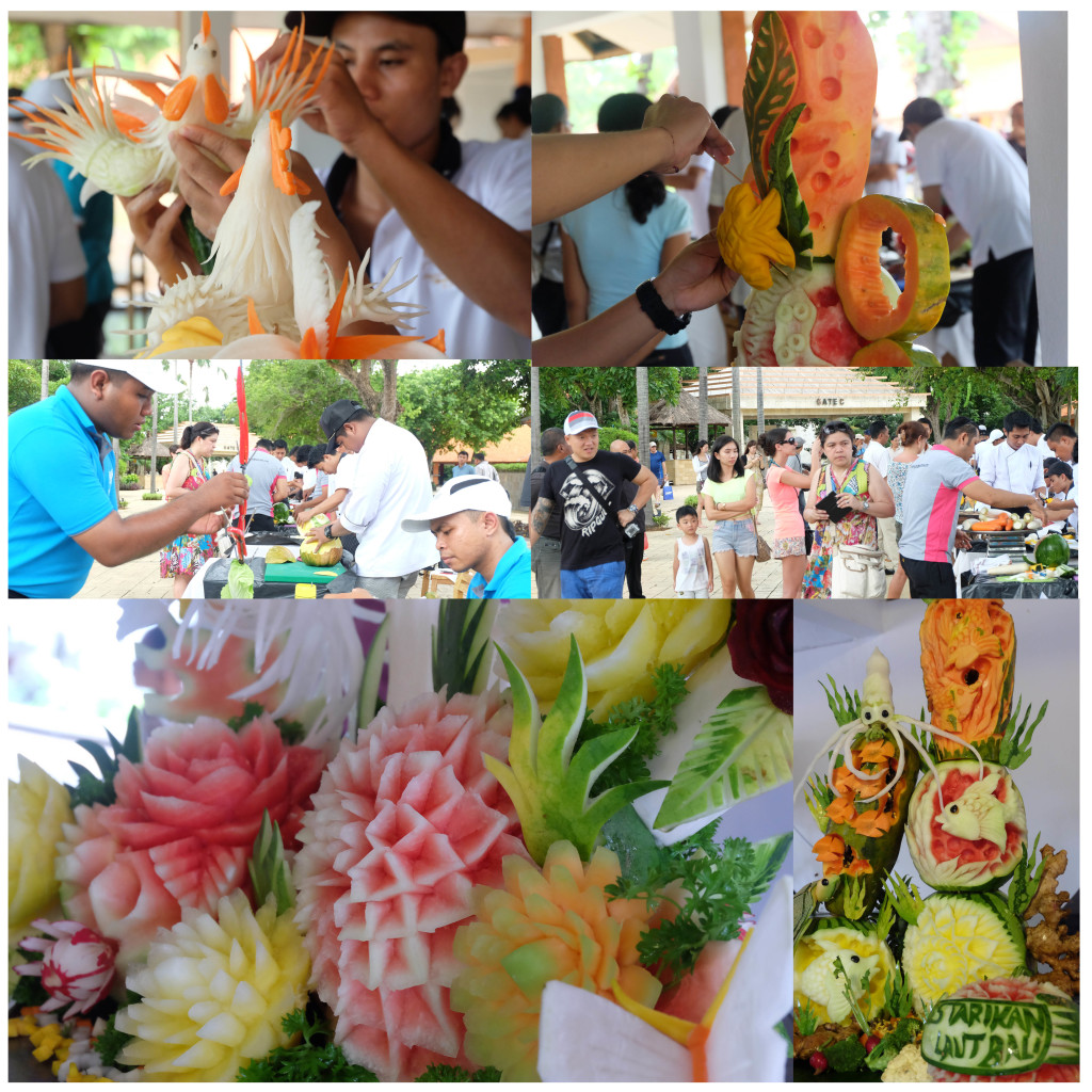 Bali Fruit Carving Competition