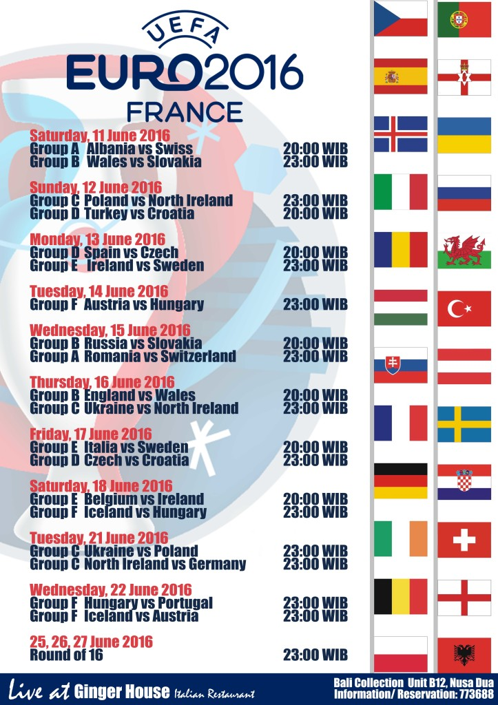 EURO CUP 2016 is here!