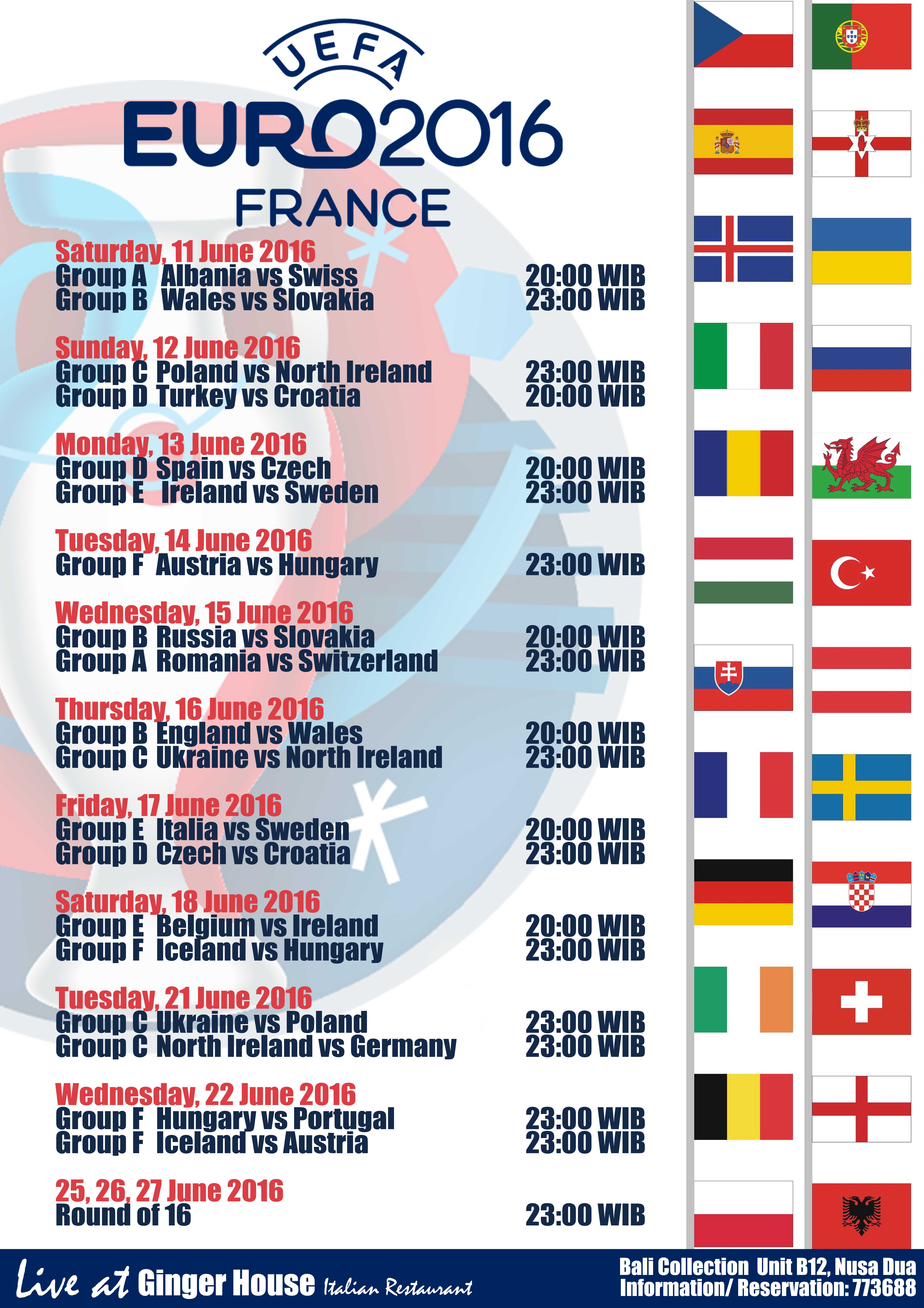Ginger House - Euro Cup 2016