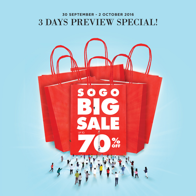 SOGO BIG SALE