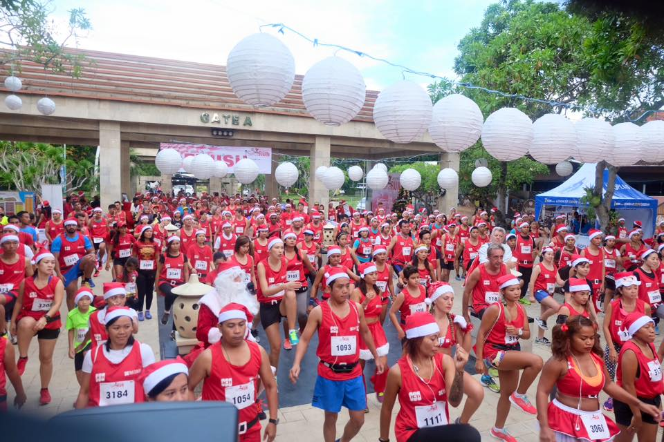 HUGE SUCCESS OF SANTA RUN 2016