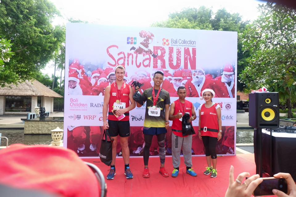 Santa run 2016 winners