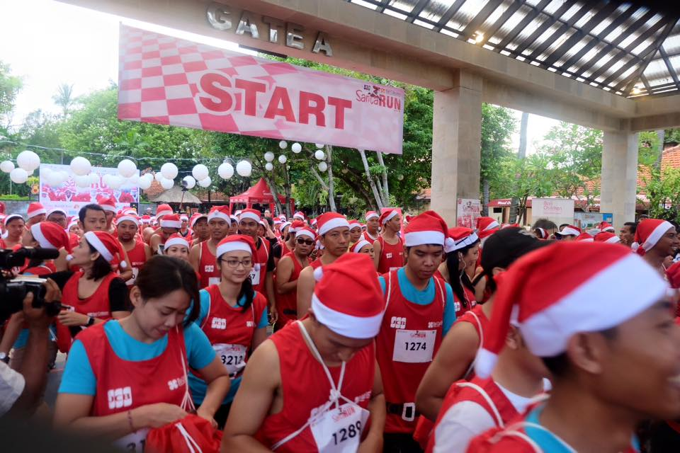 Bali Collection Santa Run 2016