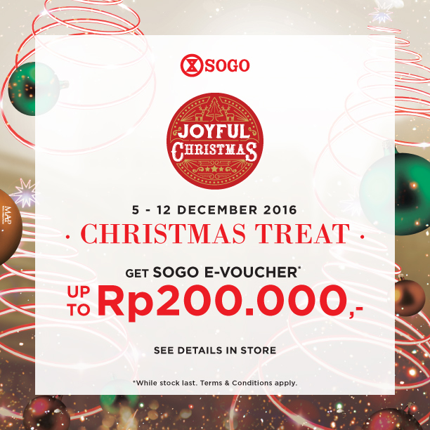 SOGO Christmas Treat!