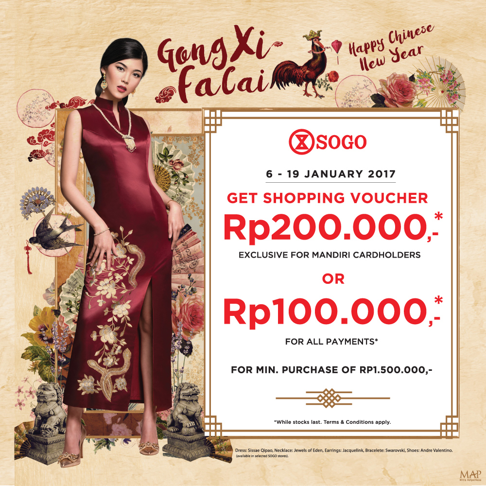 SOGO Chinese New Year Promo