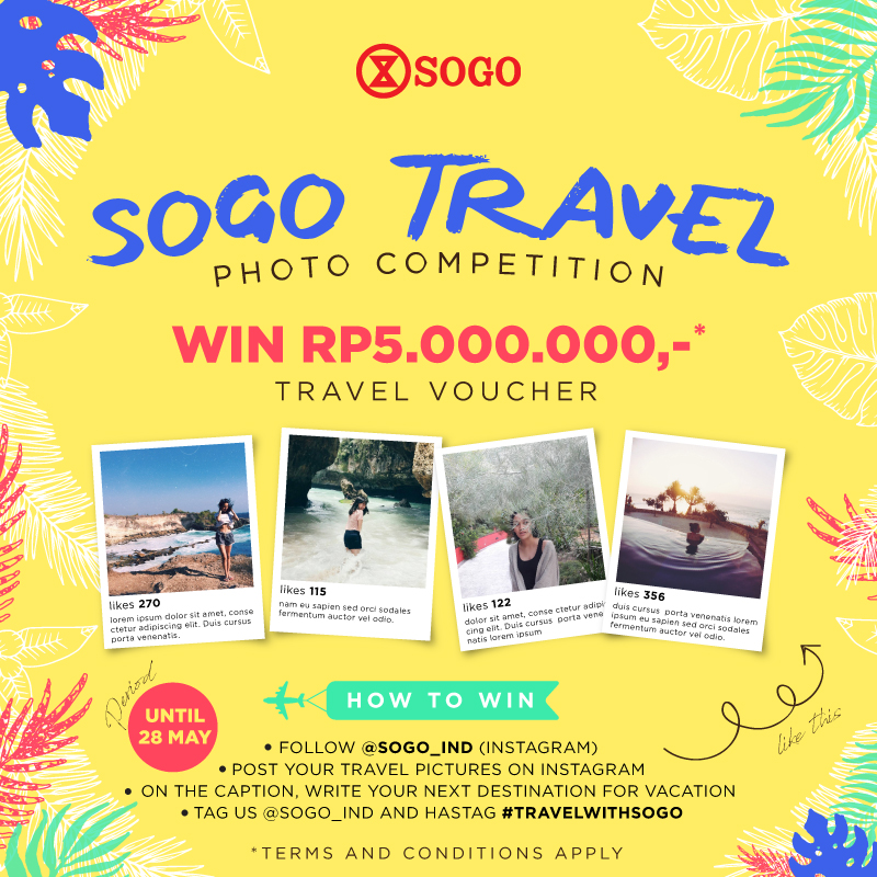 SNAP AND WIN TRAVEL VOUCHER